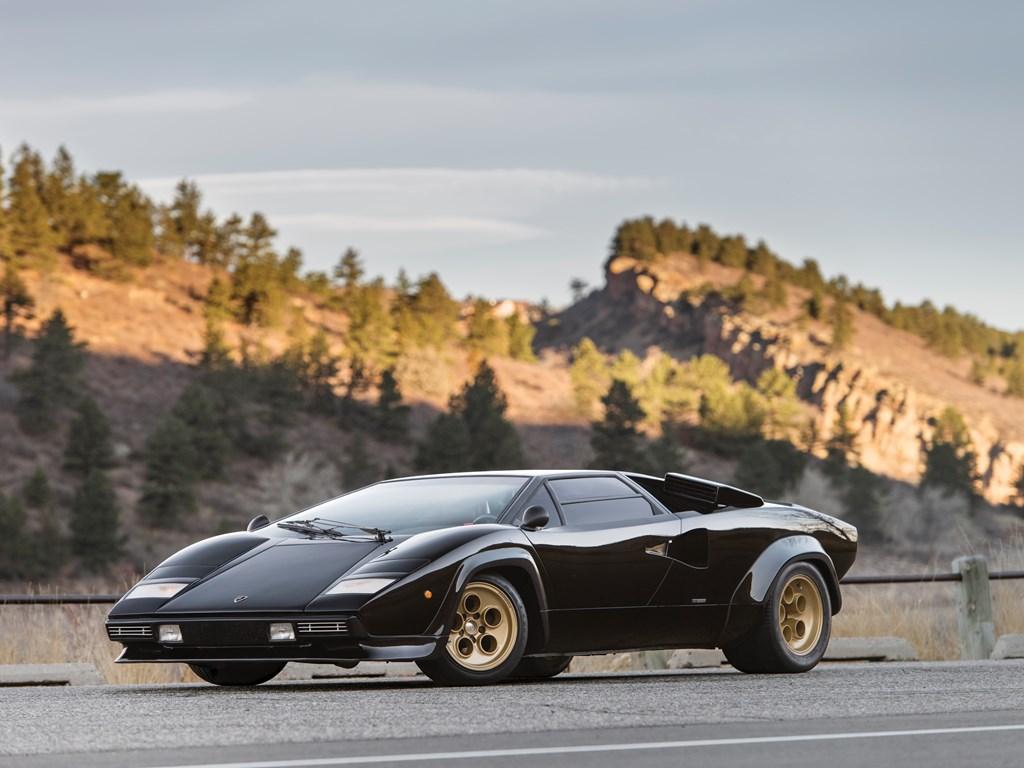 1979 Lamborghini Countach LP400 S Series I front 3/4