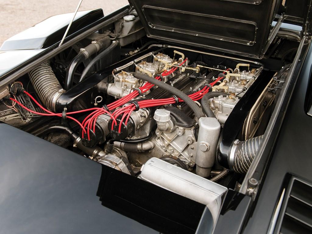 1979 Lamborghini Countach LP400 S Series I engine