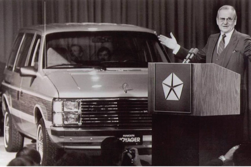 1984 Plymouth Voyager Lee Iacocca