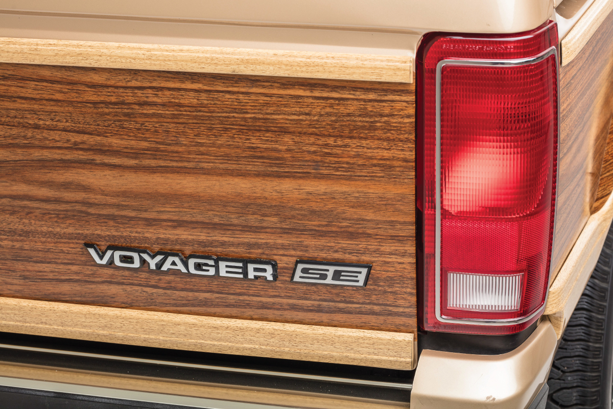 1984 Plymouth Voyager badge