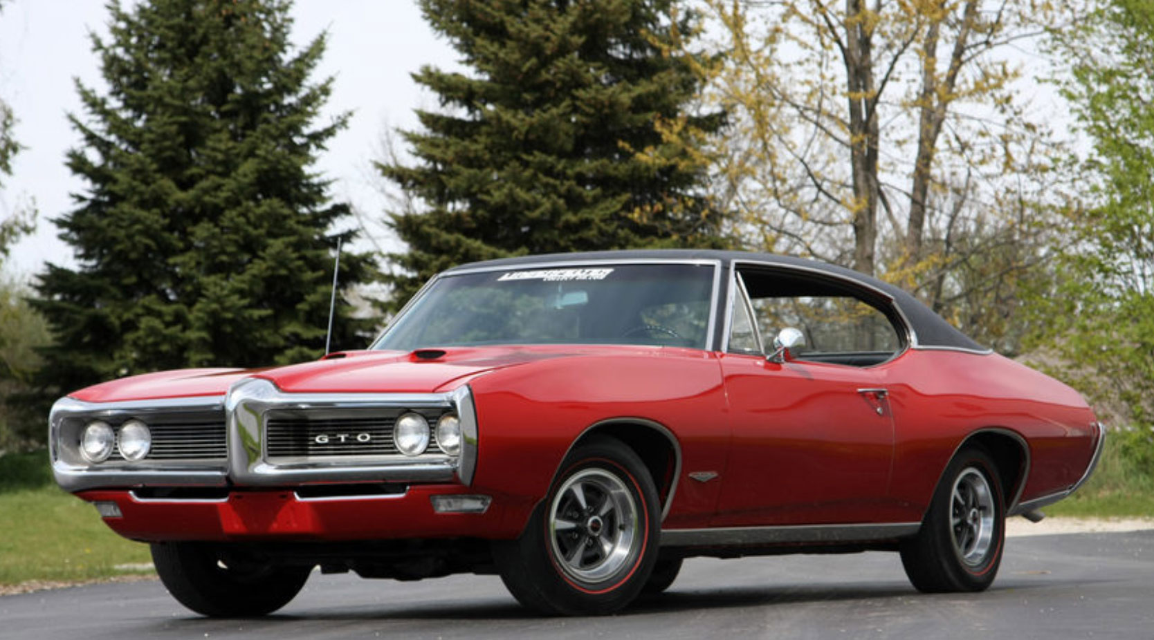 1968 Pontiac GTO with Endura-Delete