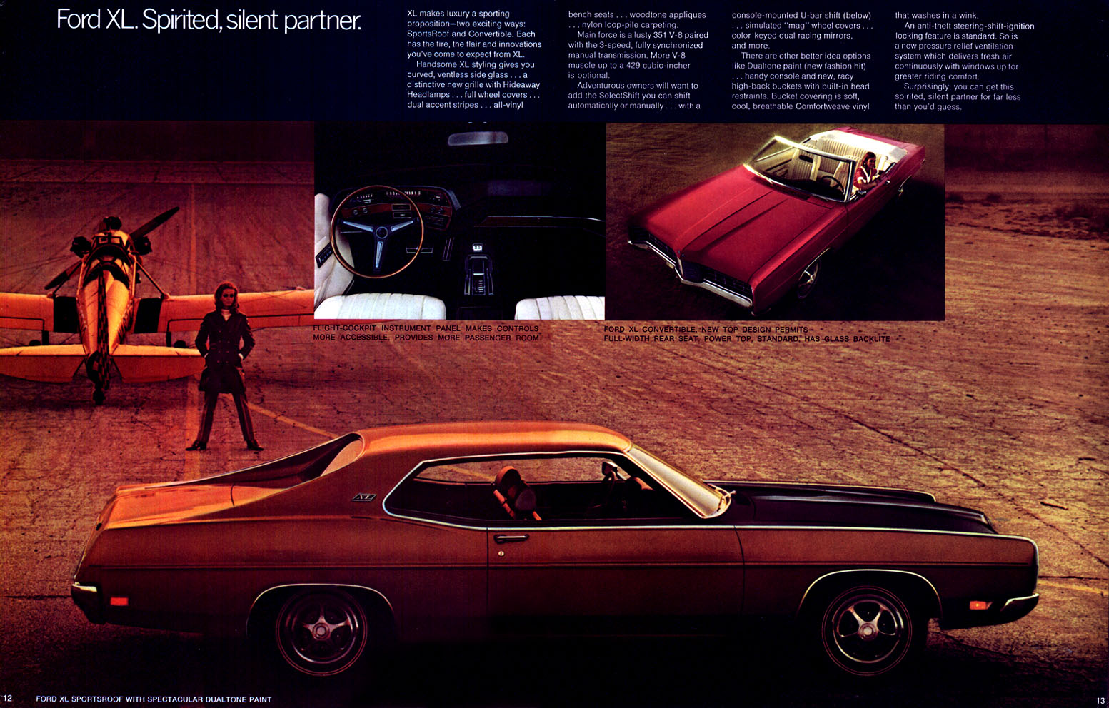 1970 Ford XL with Dualtone Paint