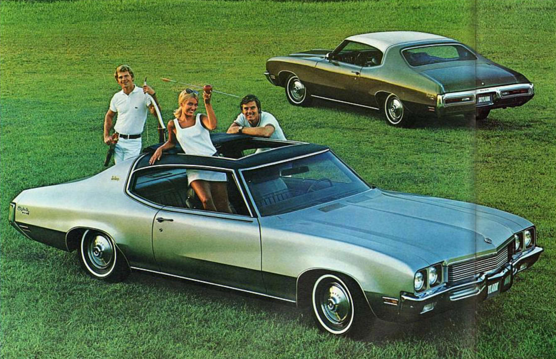 1972 Skylark Sun Coupe