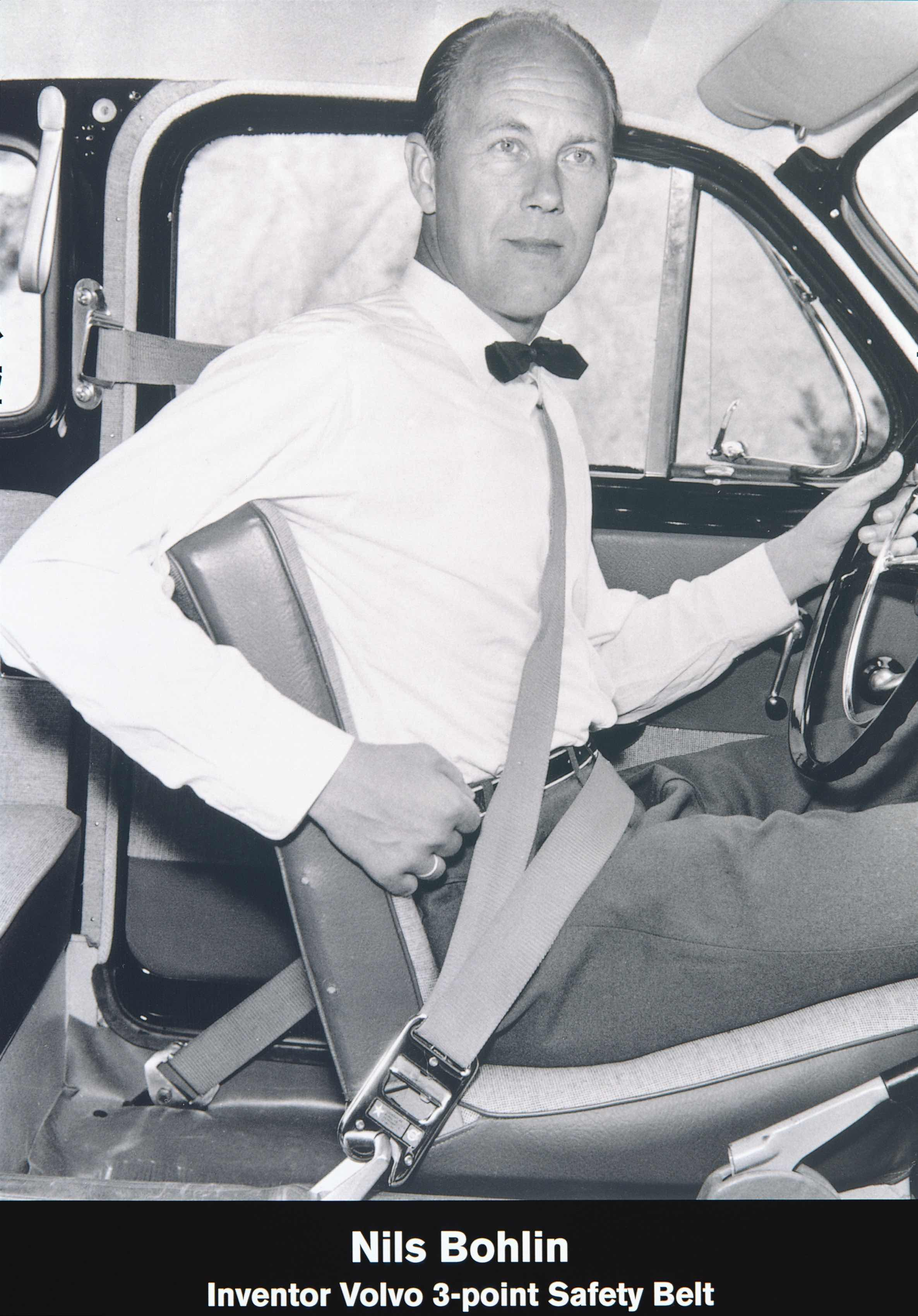 Volvo Nils Bohlin 1959 Seat Belt