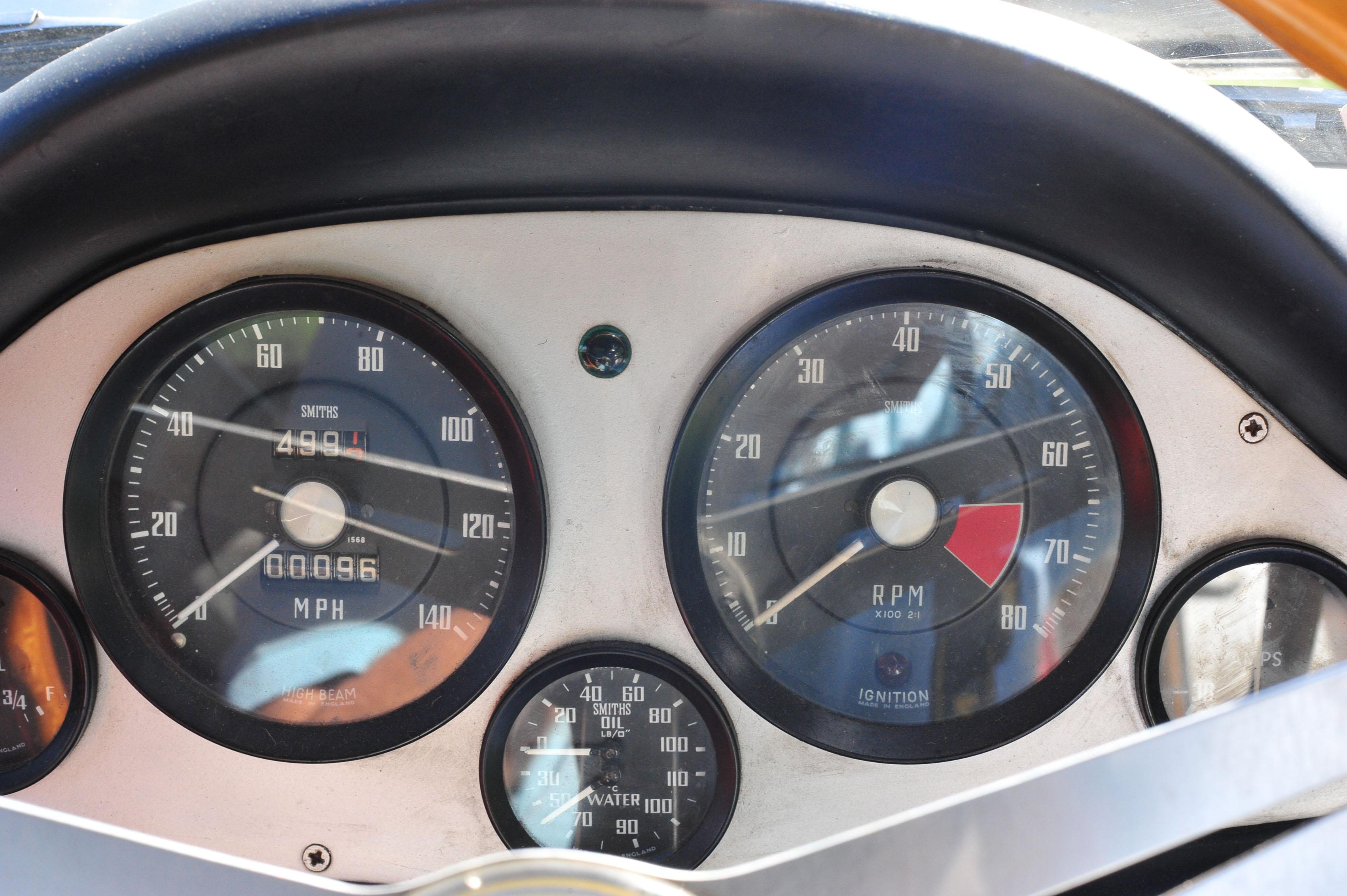 1961 Type 14 Lotus Elite gauge smiths