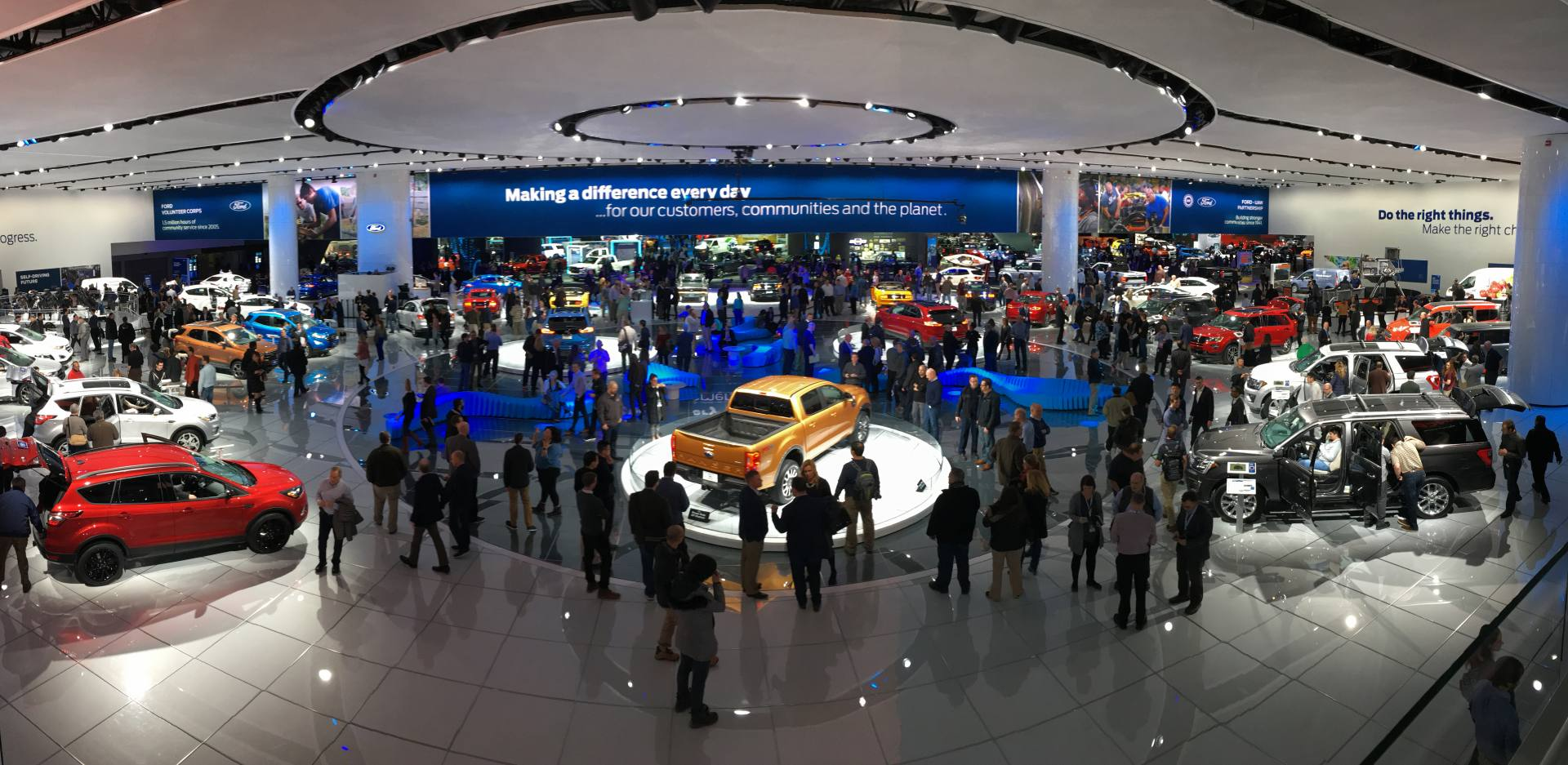 NAIAS Ford Booth