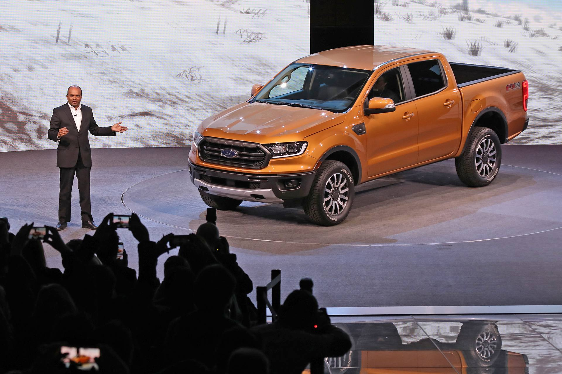 NAIAS ford ranger reveal