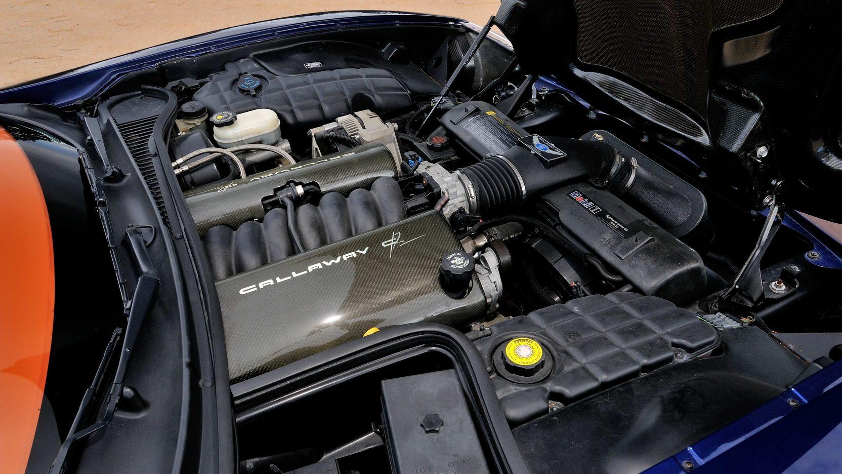 1997 Callaway C12 engine
