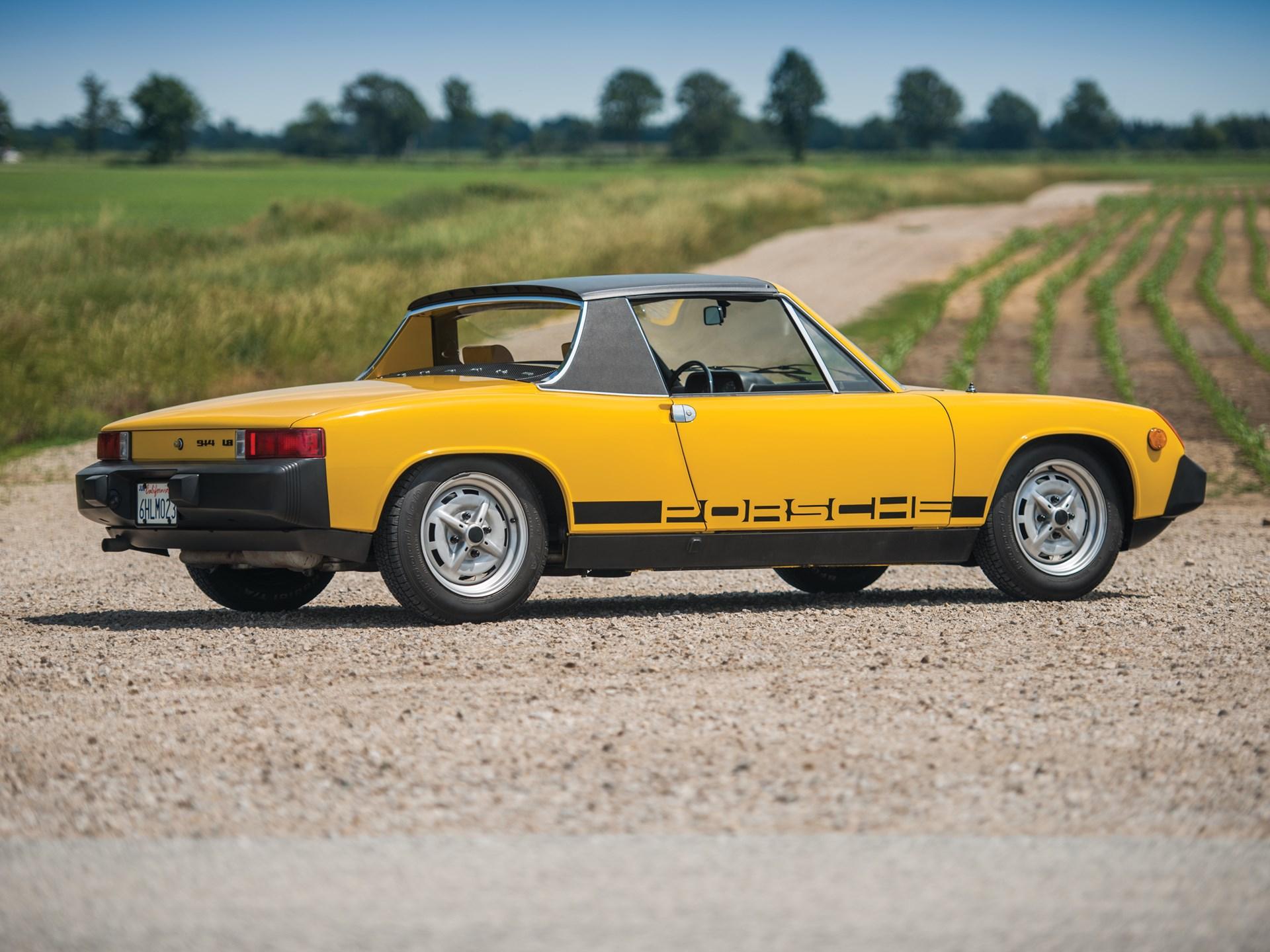 Get ready for a six-figure Porsche 914-4 thumbnail