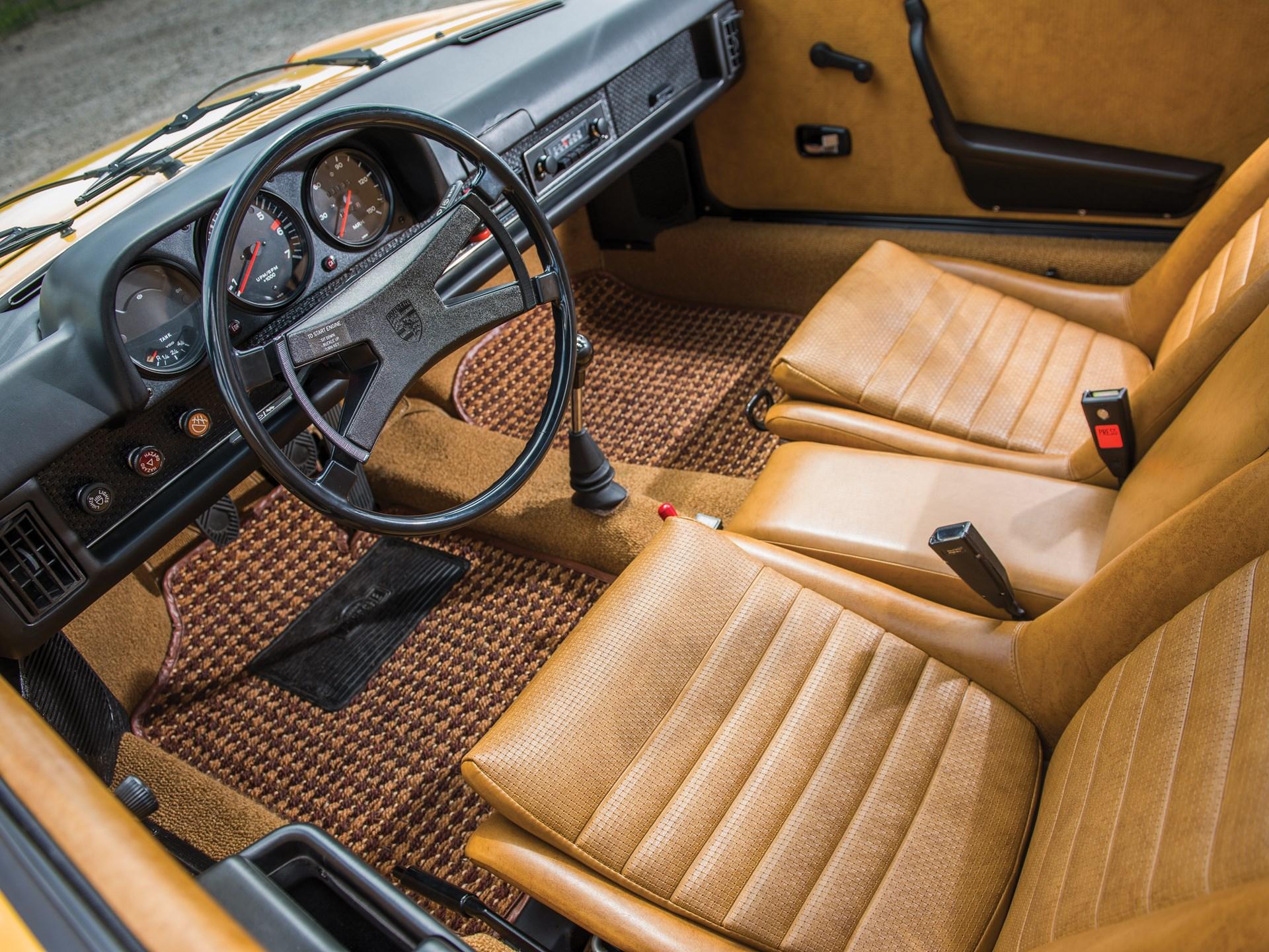 1975 Porsche 914 interior seats