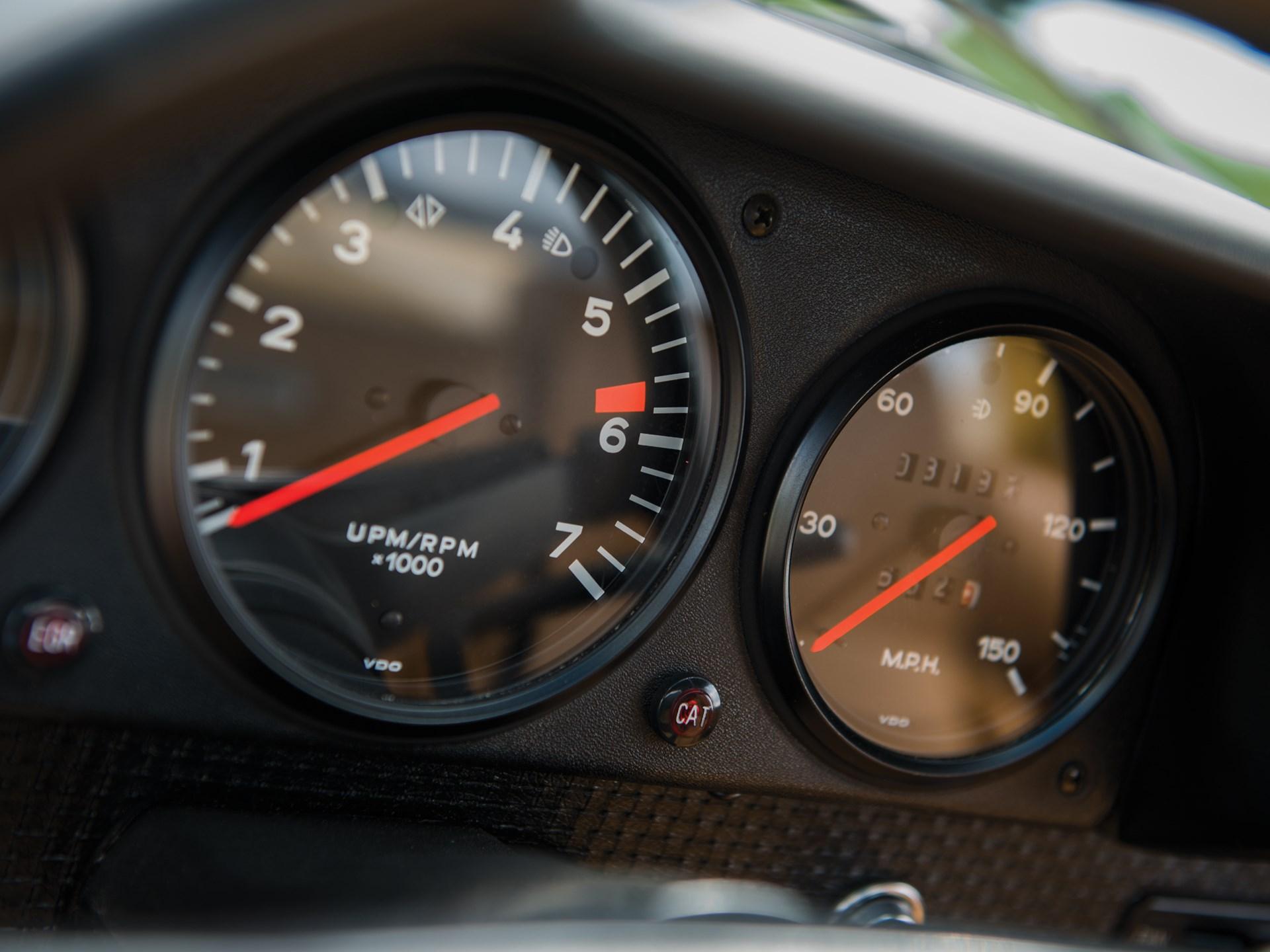 1975 Porsche 914 gauges