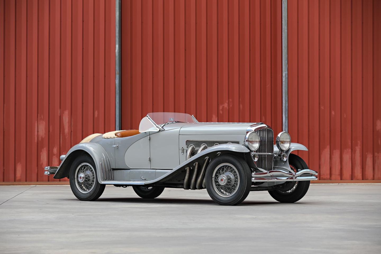 1935 Duesenberg SSJ front 3-4