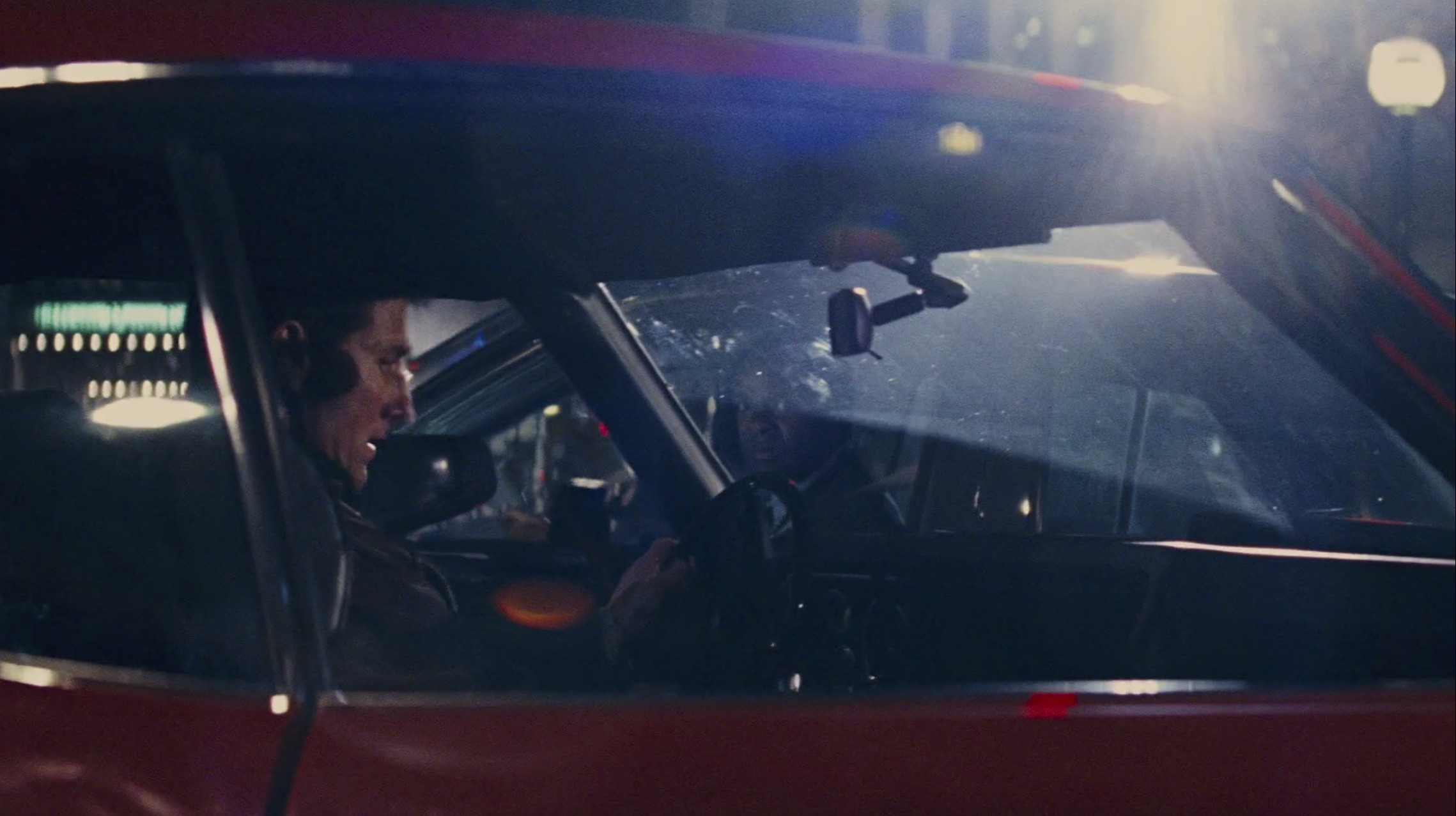 Jack reacher chevelle in car with tom cruise