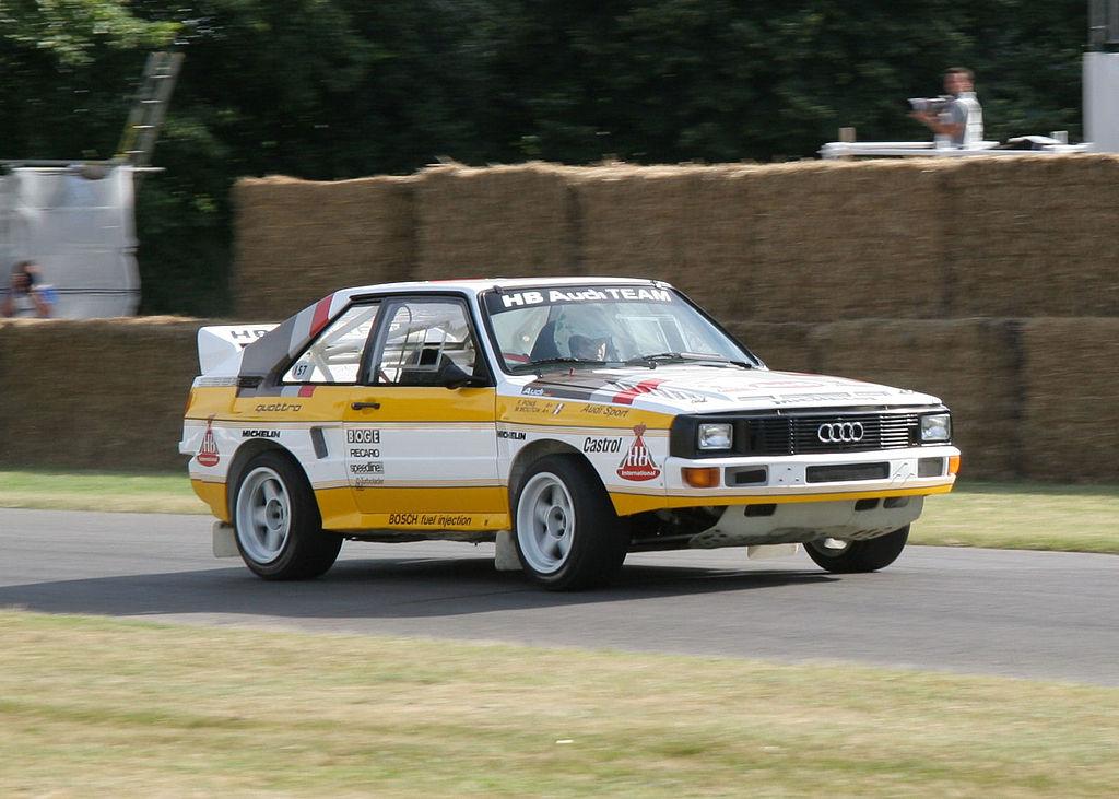 Michèle Mouton's 1985 Audi Quattro