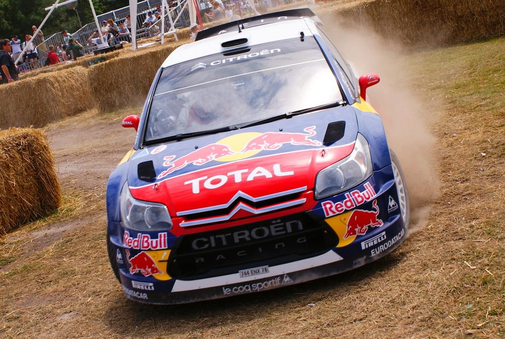 Sebastien Loeb's 2009 Citroën C4 WRC
