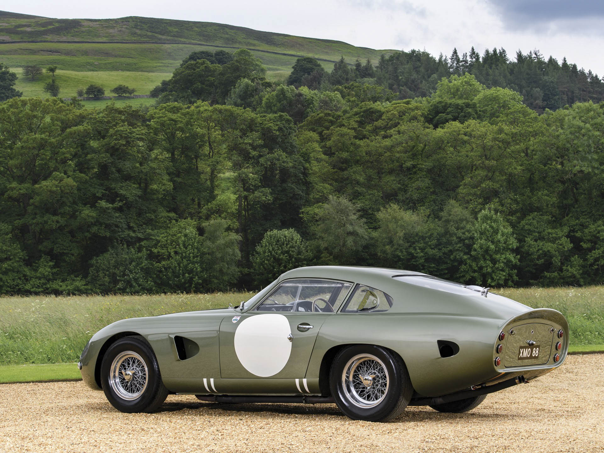 1963 Aston Martin DP215 Grand Touring Competition Prototype rear 3/4