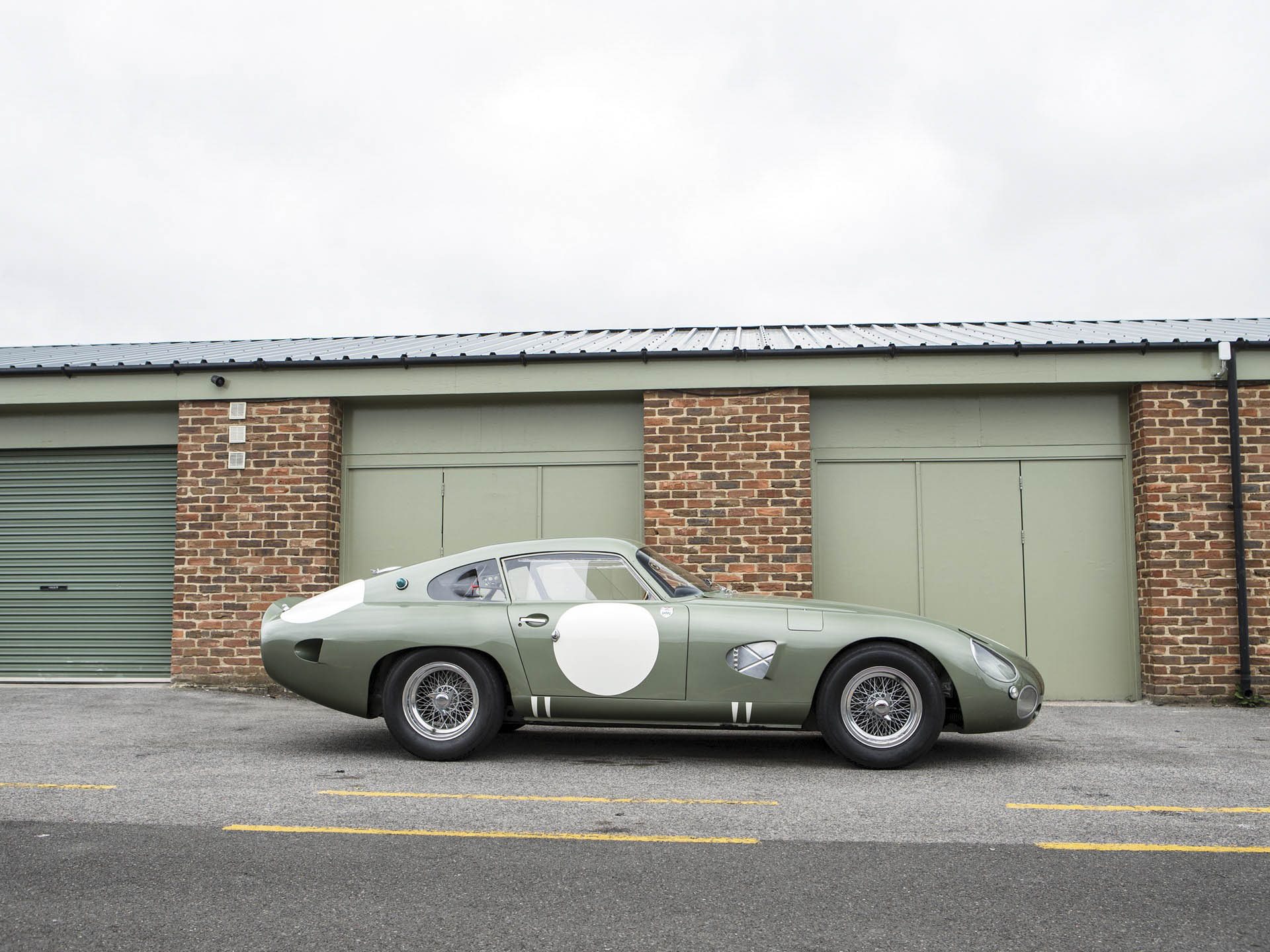 1963 Aston Martin DP215 Grand Touring Competition Prototype profile