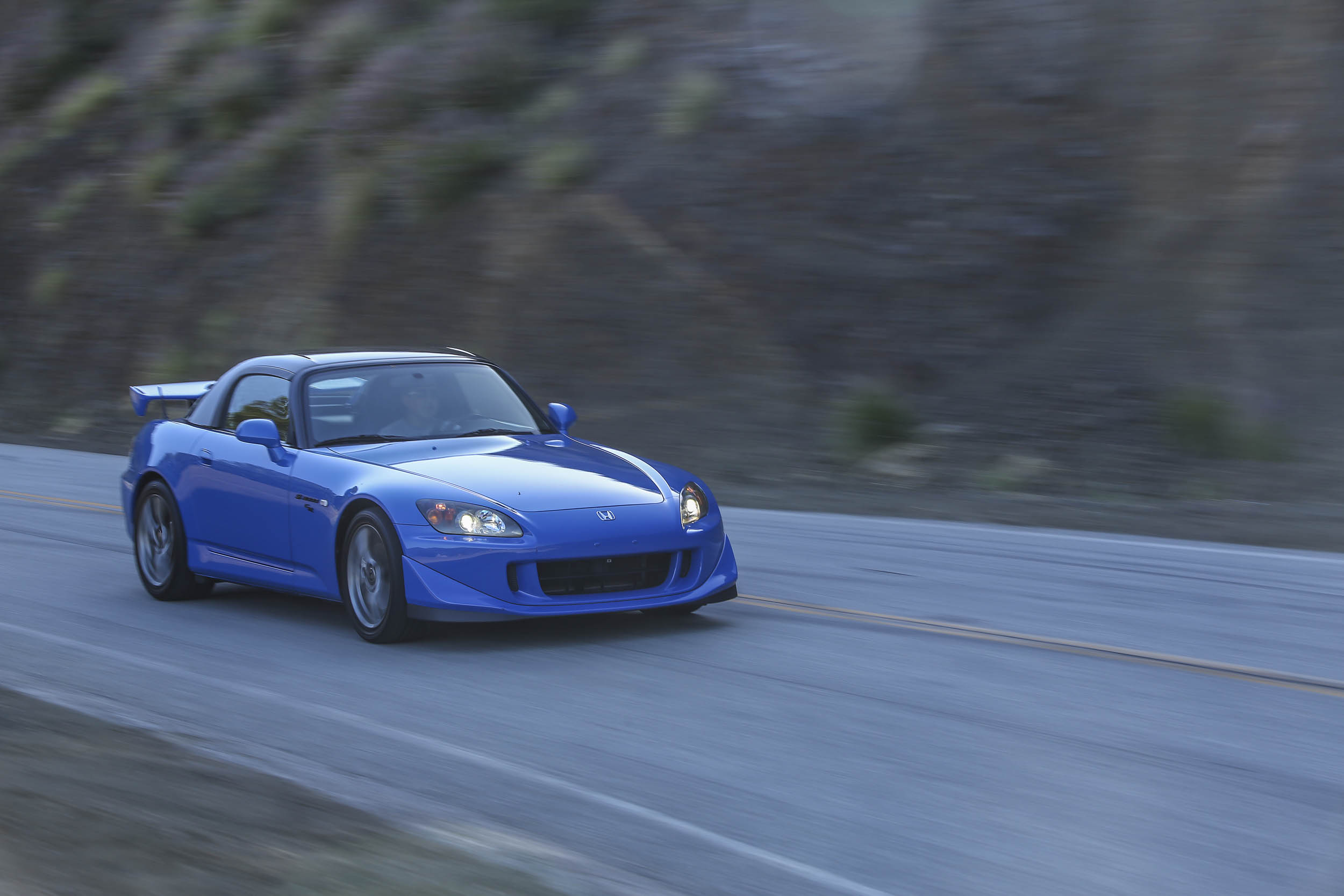 Honda S2000 on road