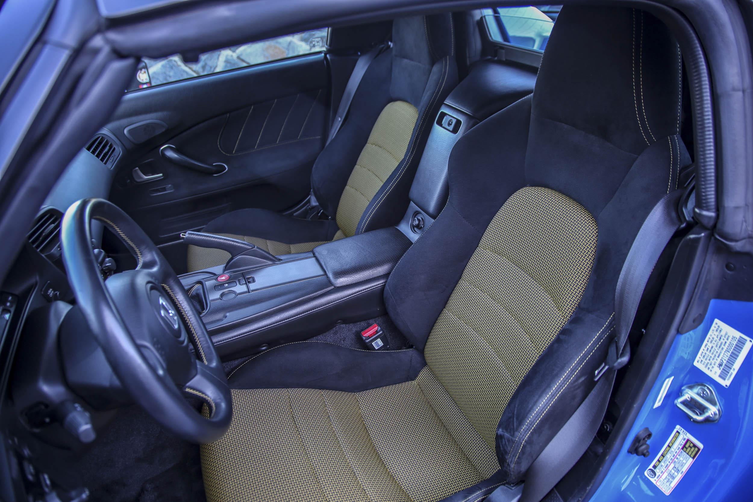 Honda S2000 seats