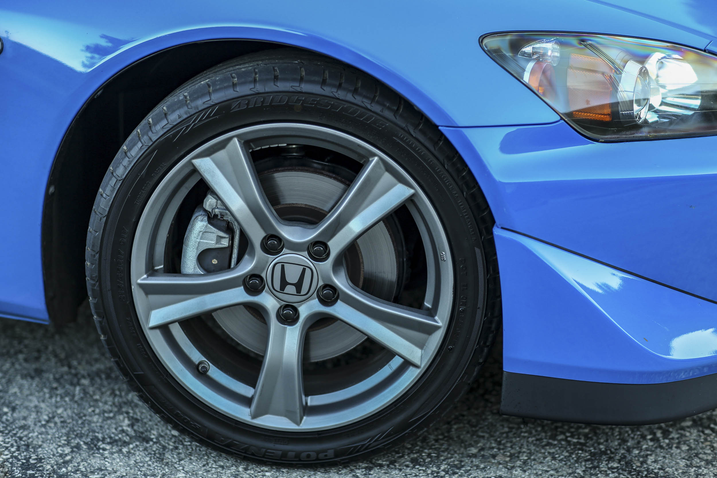 Honda S2000 wheel front brakes