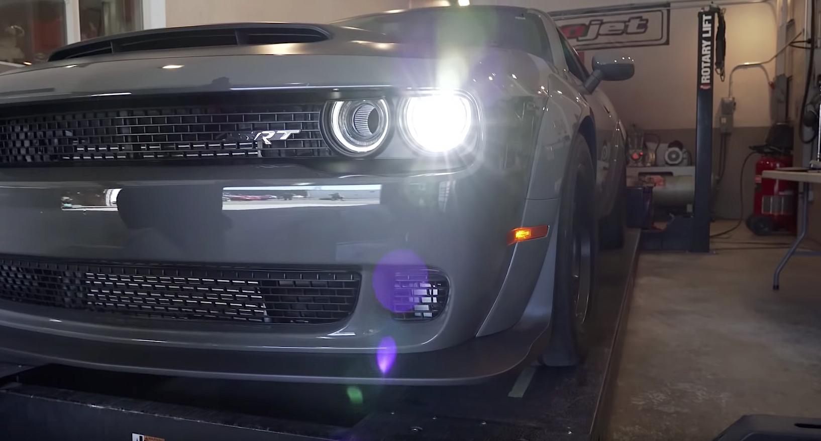2018 Dodge Demon dyno test