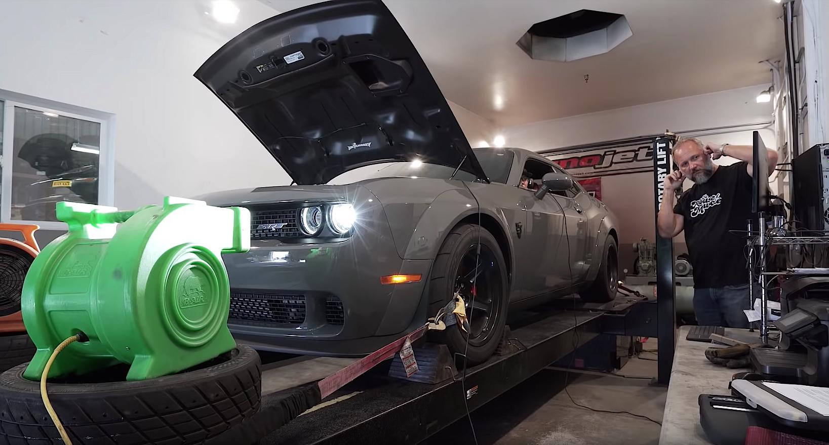 Dodge Demon horsepower test