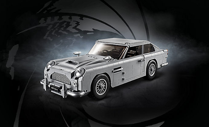 The new LEGO 1964 Aston Martin DB5 is a kid's secret agent dream car thumbnail