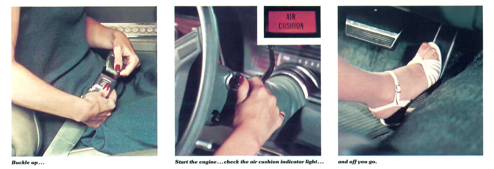 Oldsmobile Airbag instructions