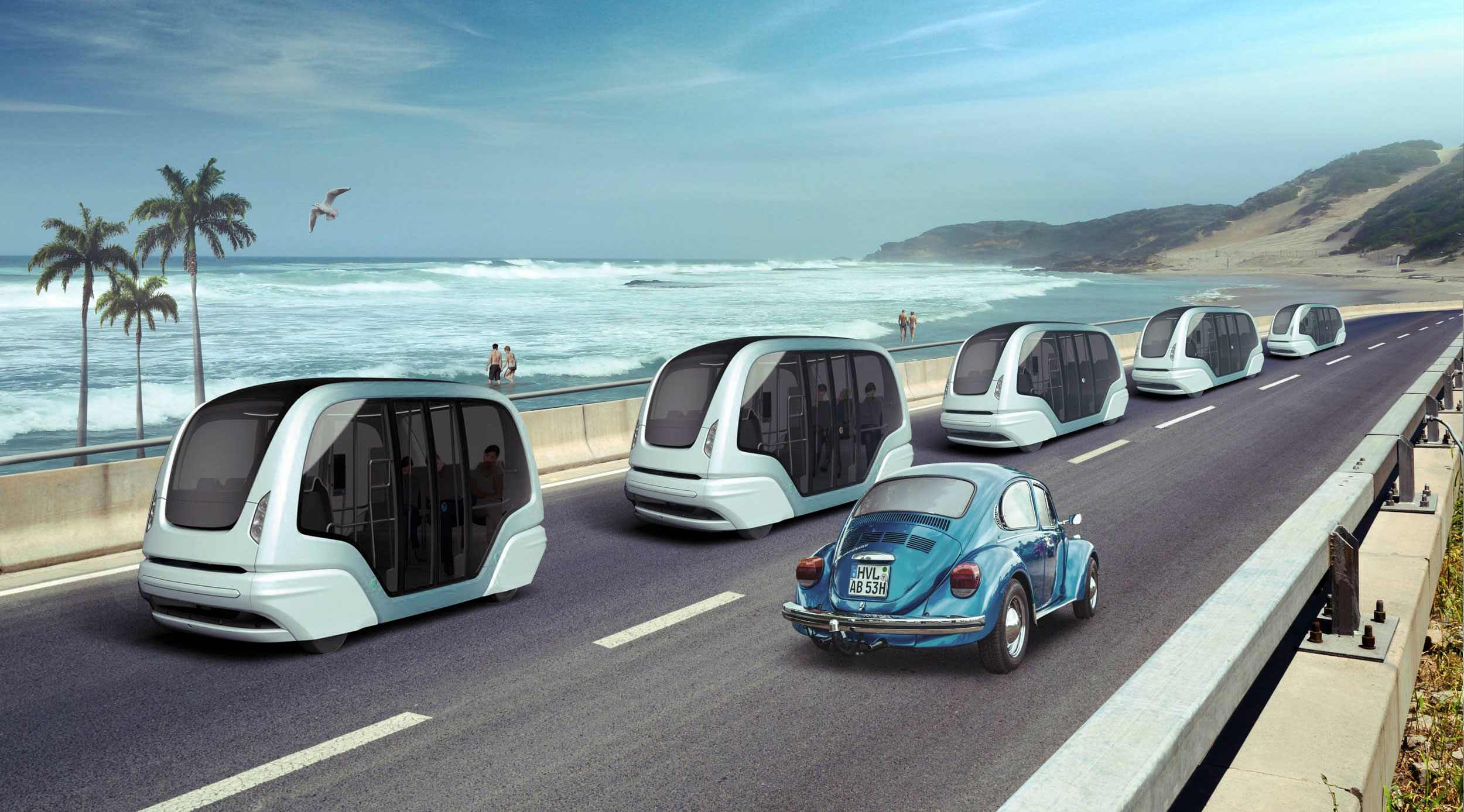 How yesterday's cars might mix with tomorrow's autonomous traffic