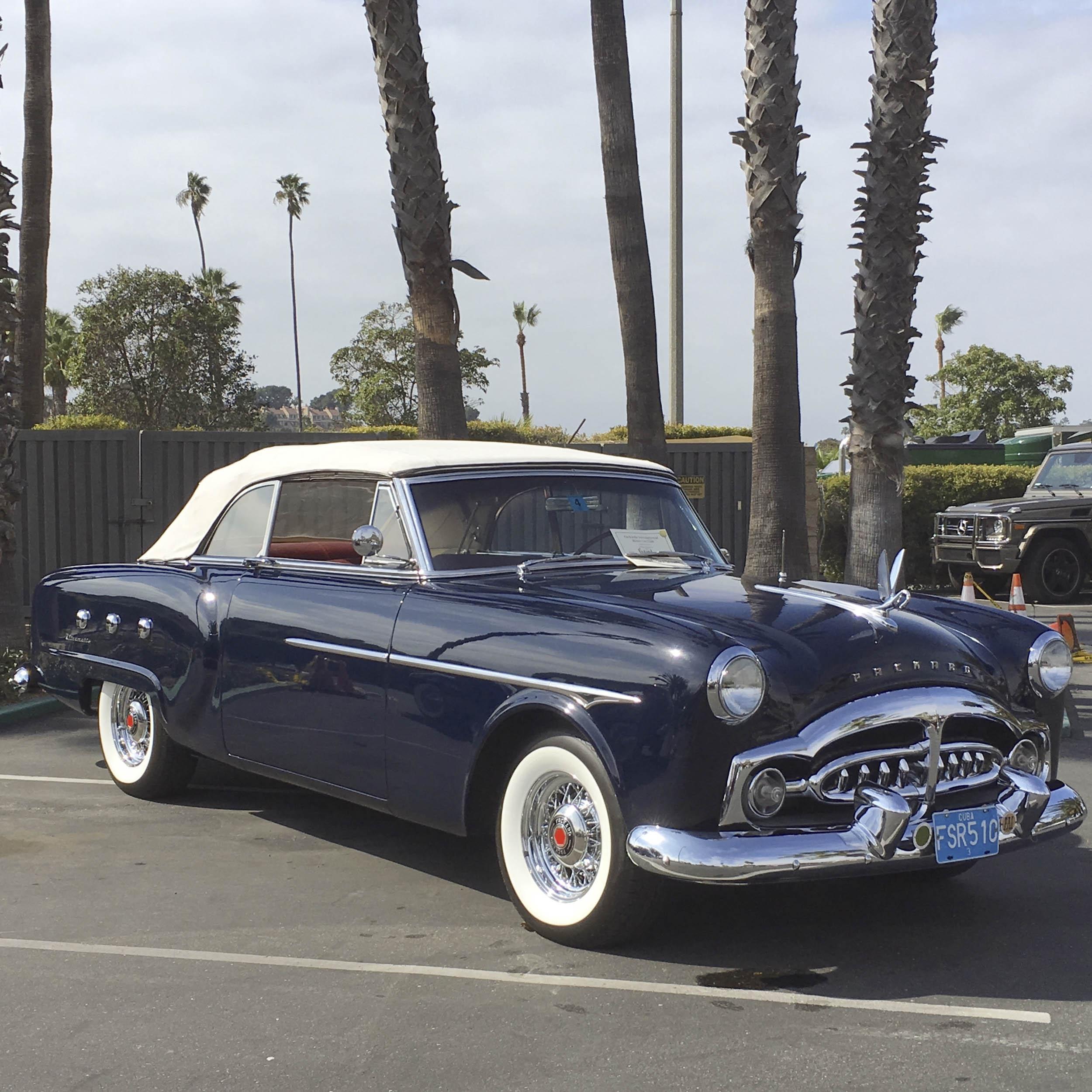 1951 Packard convertible