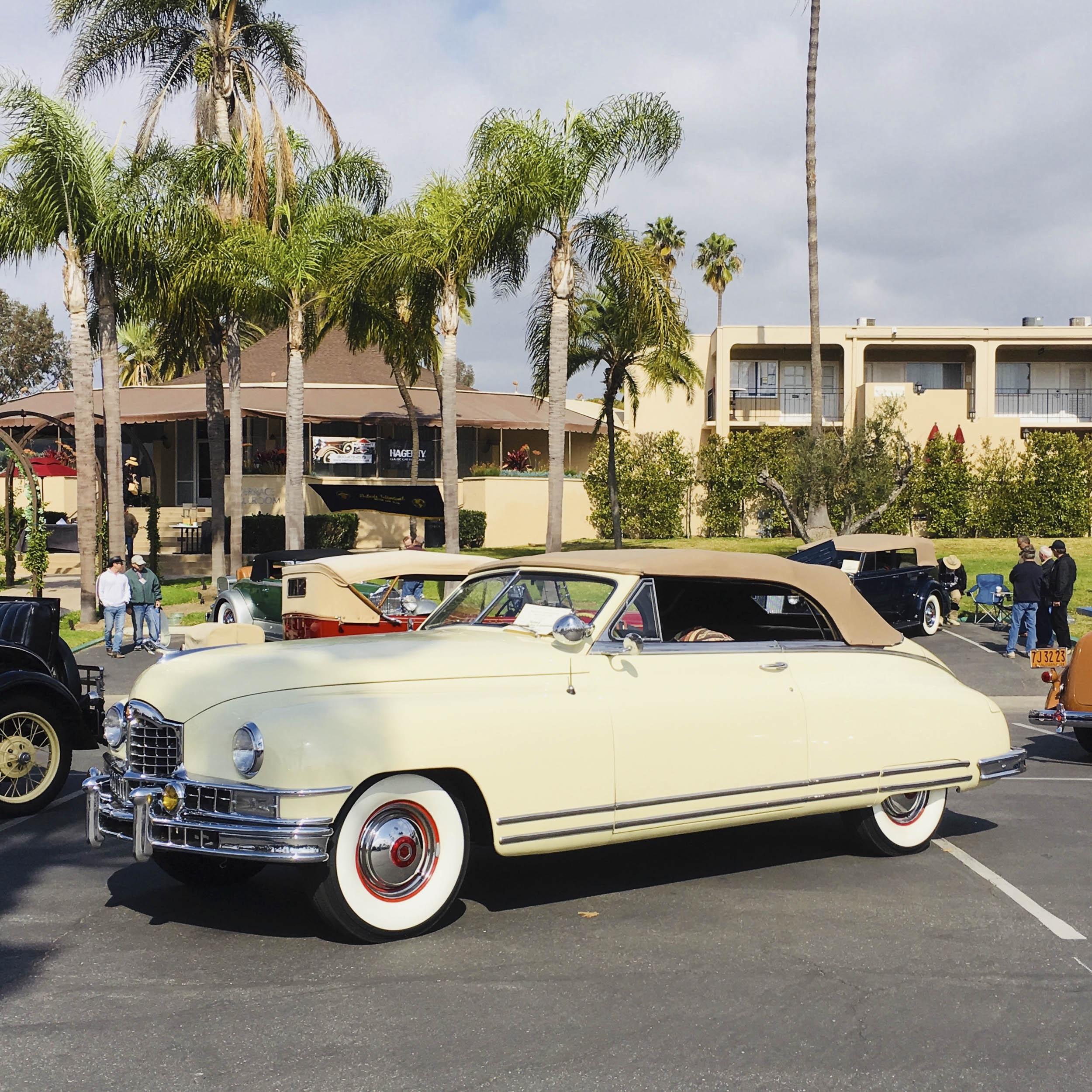 1950 Packard custom 8 victoria convertible