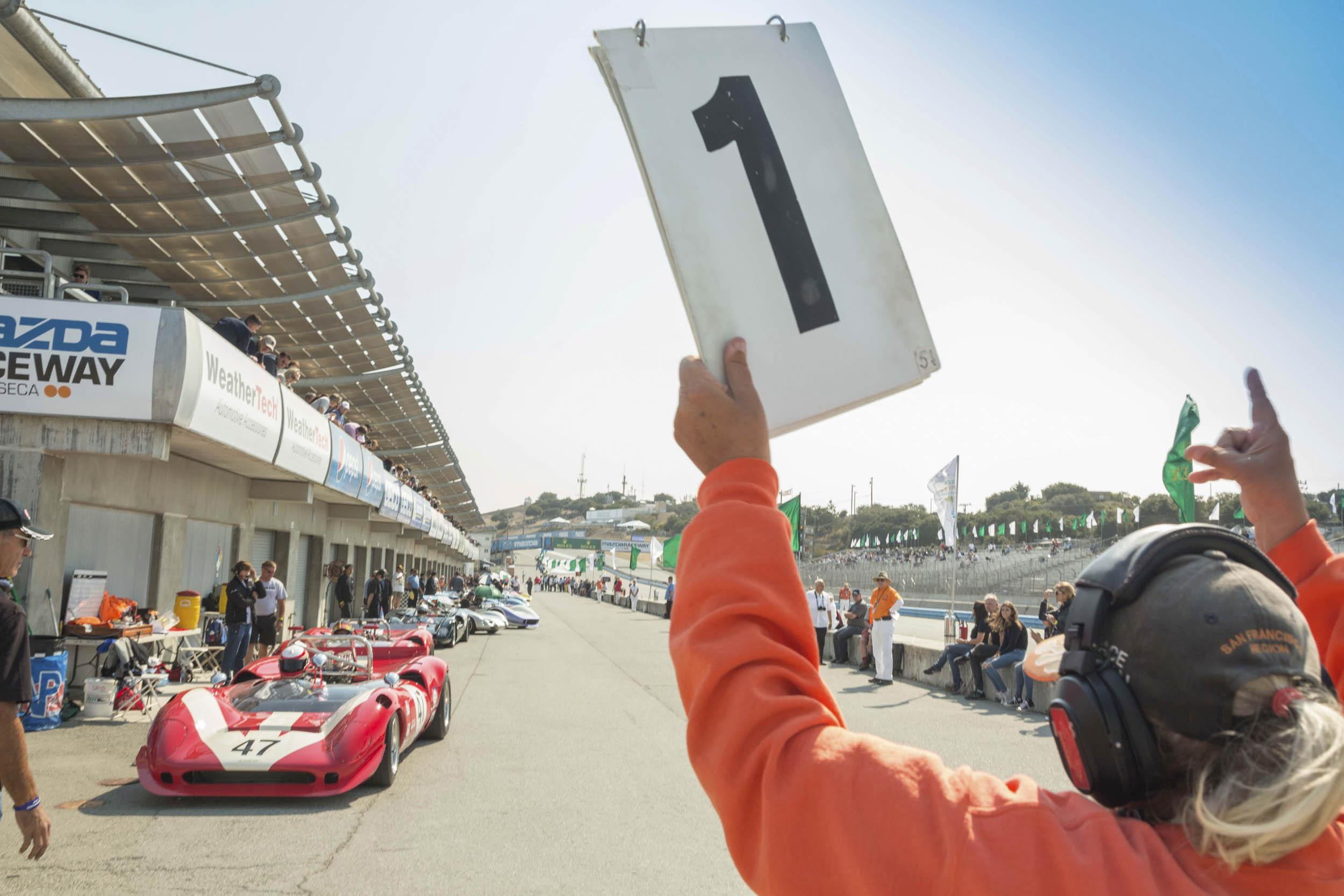 Laguna Seca racing
