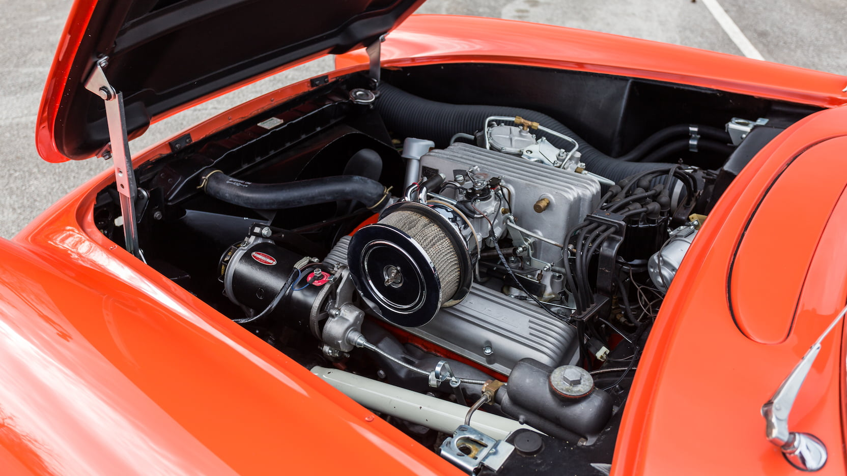1957 Chevrolet Corvette with fuel-injected 283 small block
