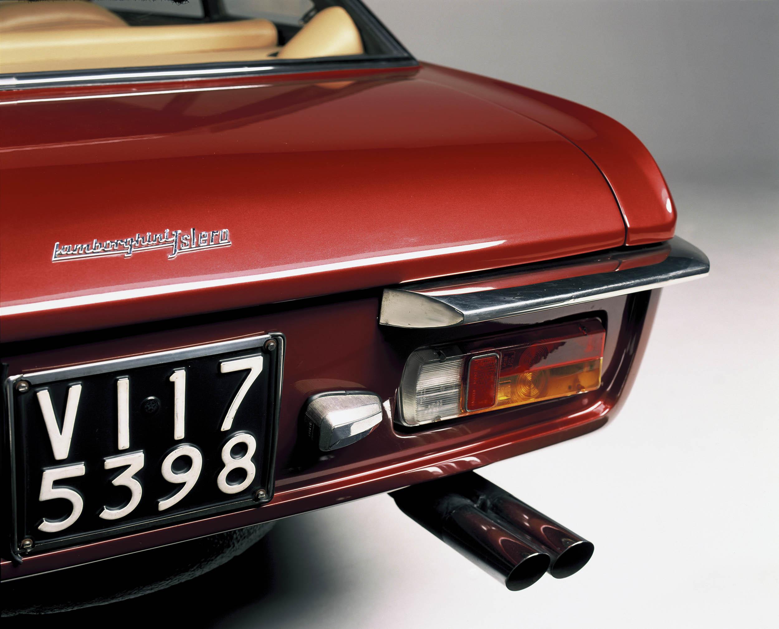 Lamborghini Islero detail