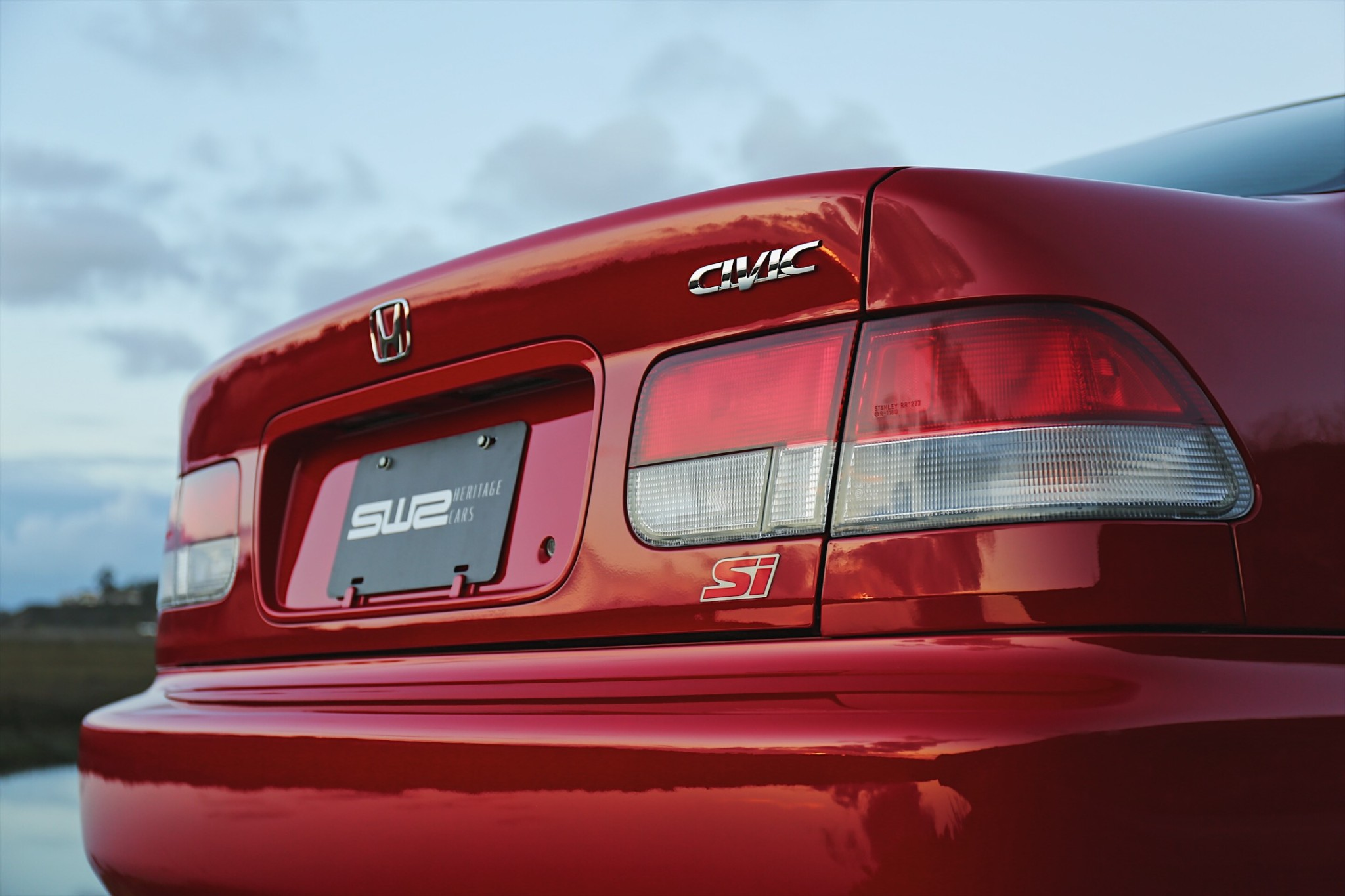 2000 Honda Civic Si rear