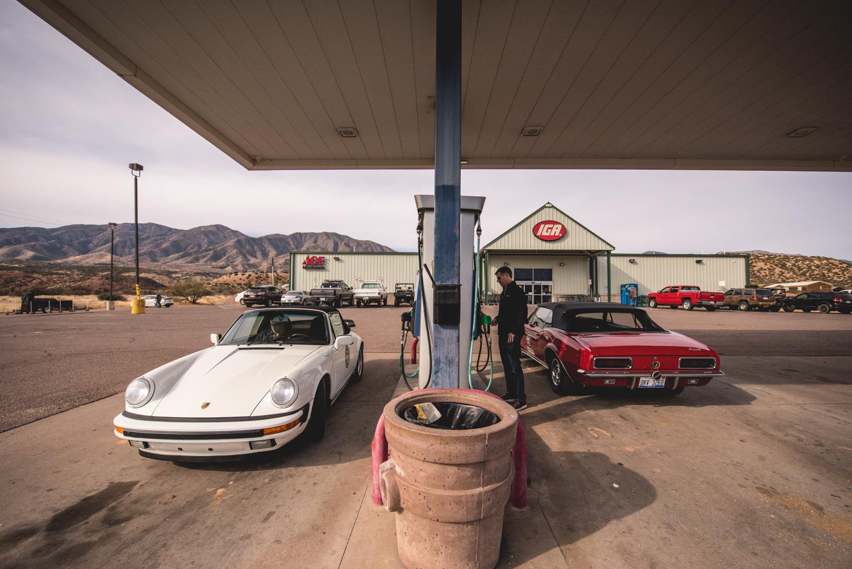 Porsche camaro fill up