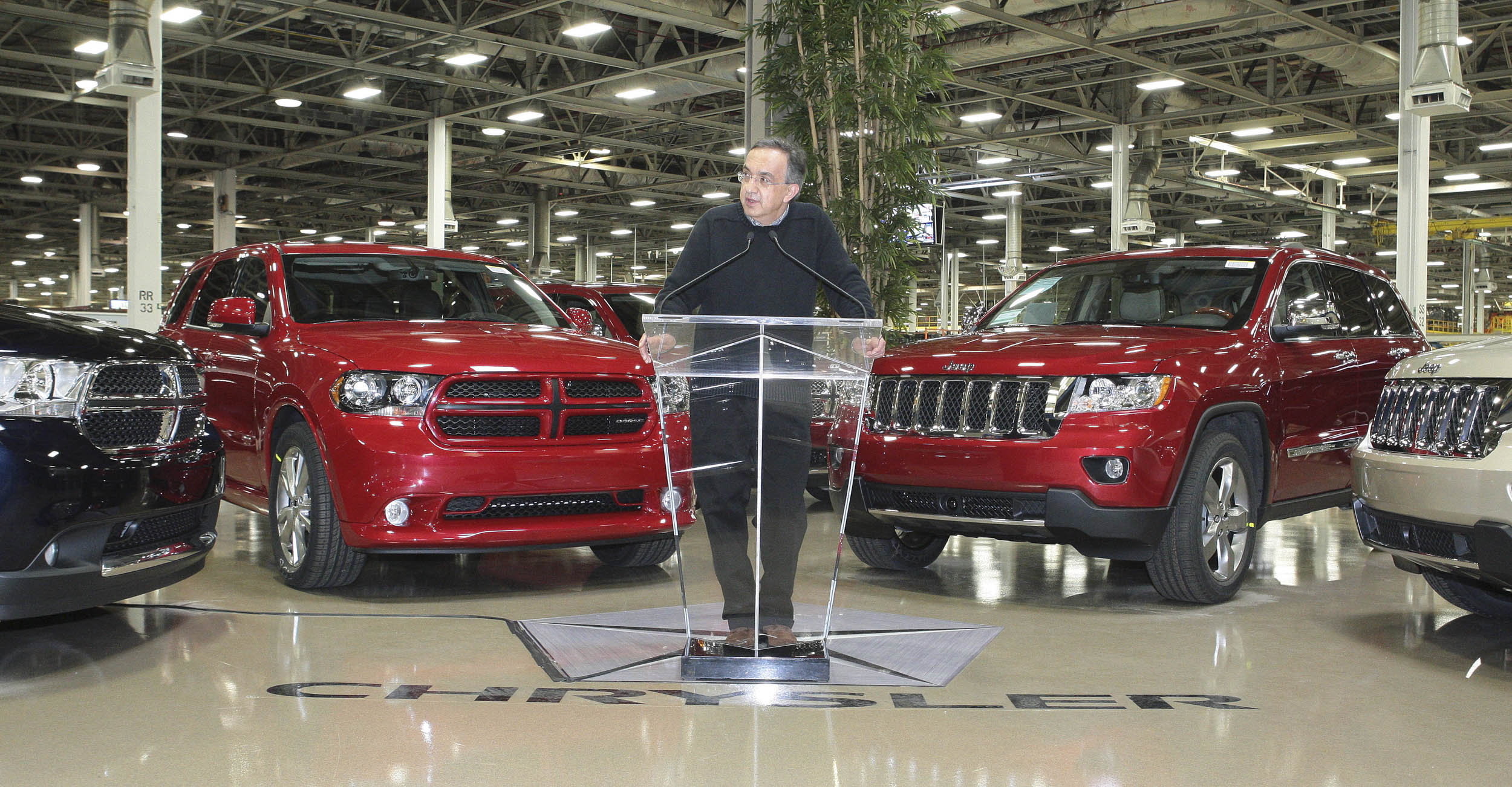 Sergio Marchionne making announcements