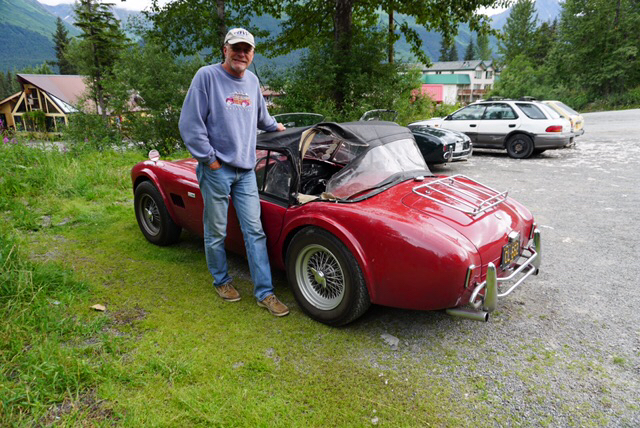 tom cotter 1965 shelby cobra red torn top bear