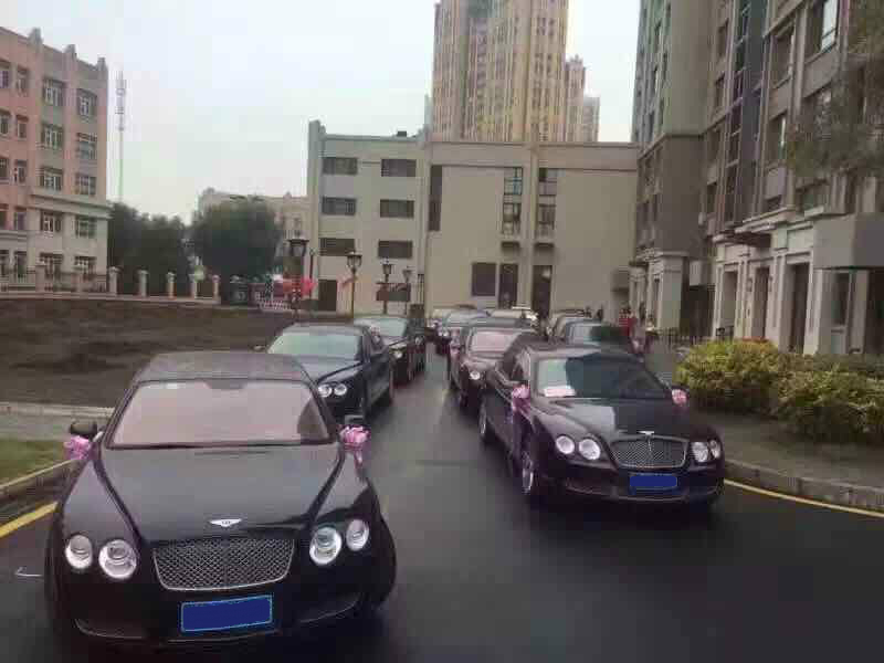 crazy cars at a Chinese wedding
