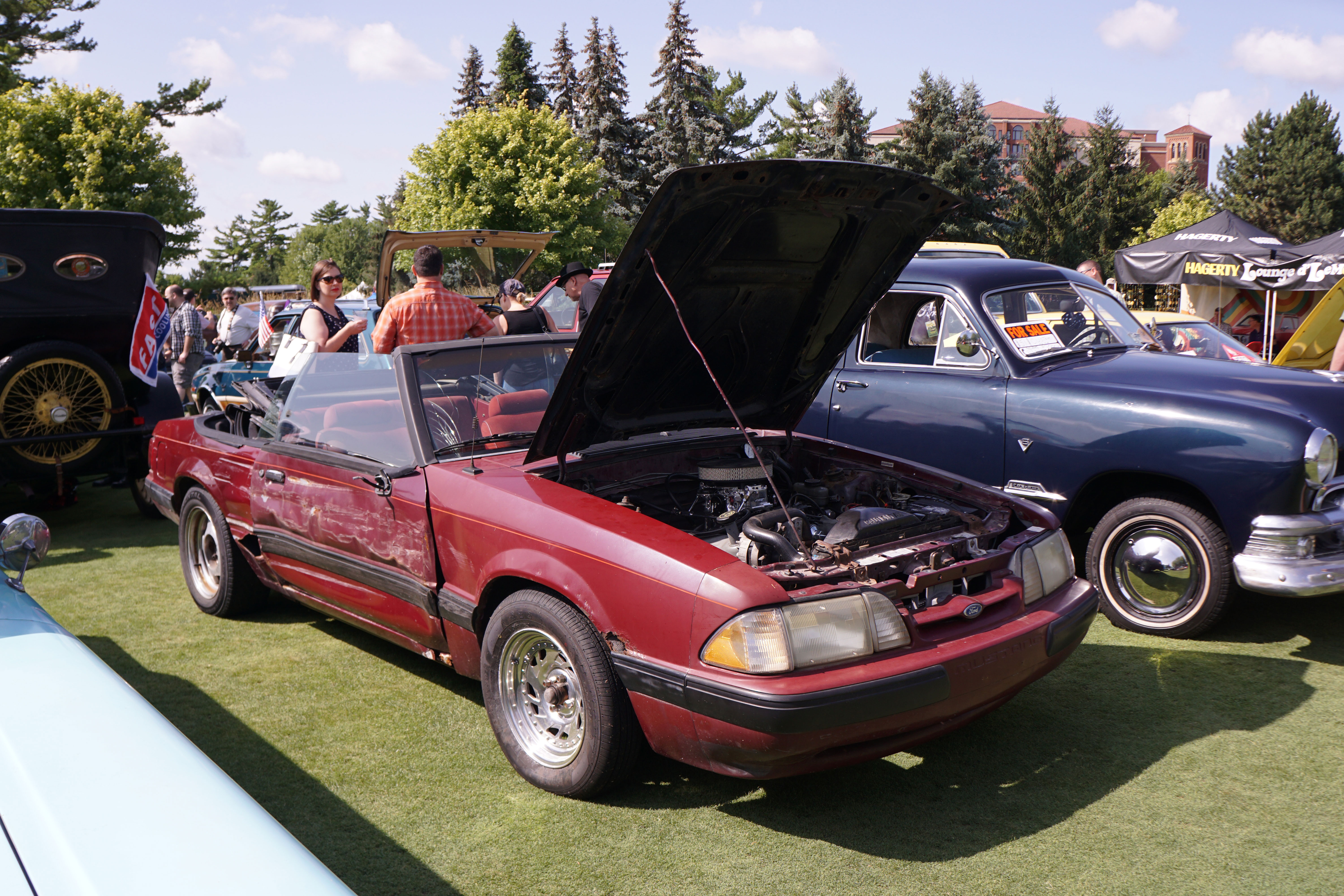 concours d'lemons 2018 st johns ford mustang convertible