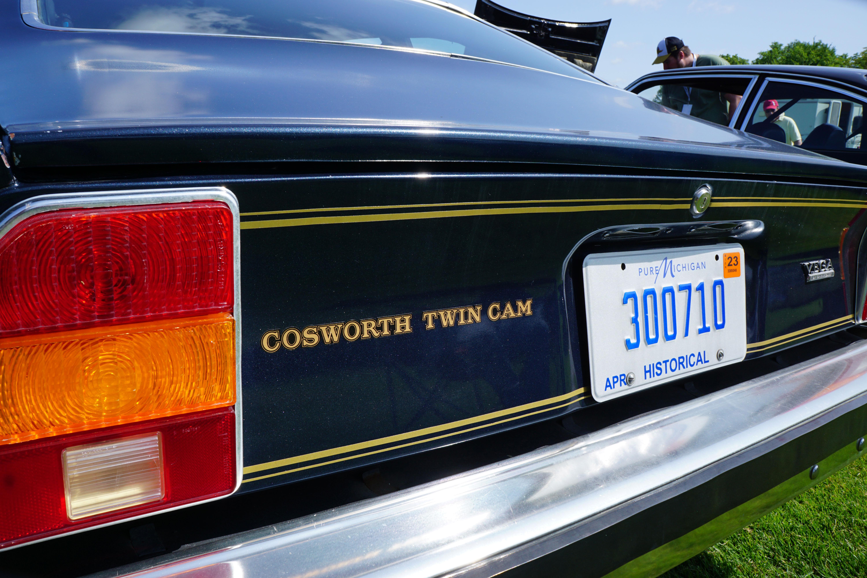 cosworth twin cam concours lemons 2018 michigan