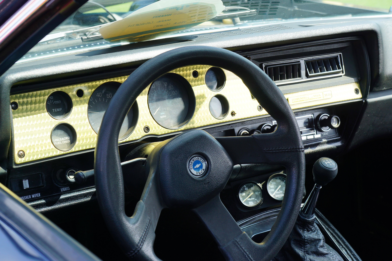 Cosworth vega concours d lemons interior dashboard