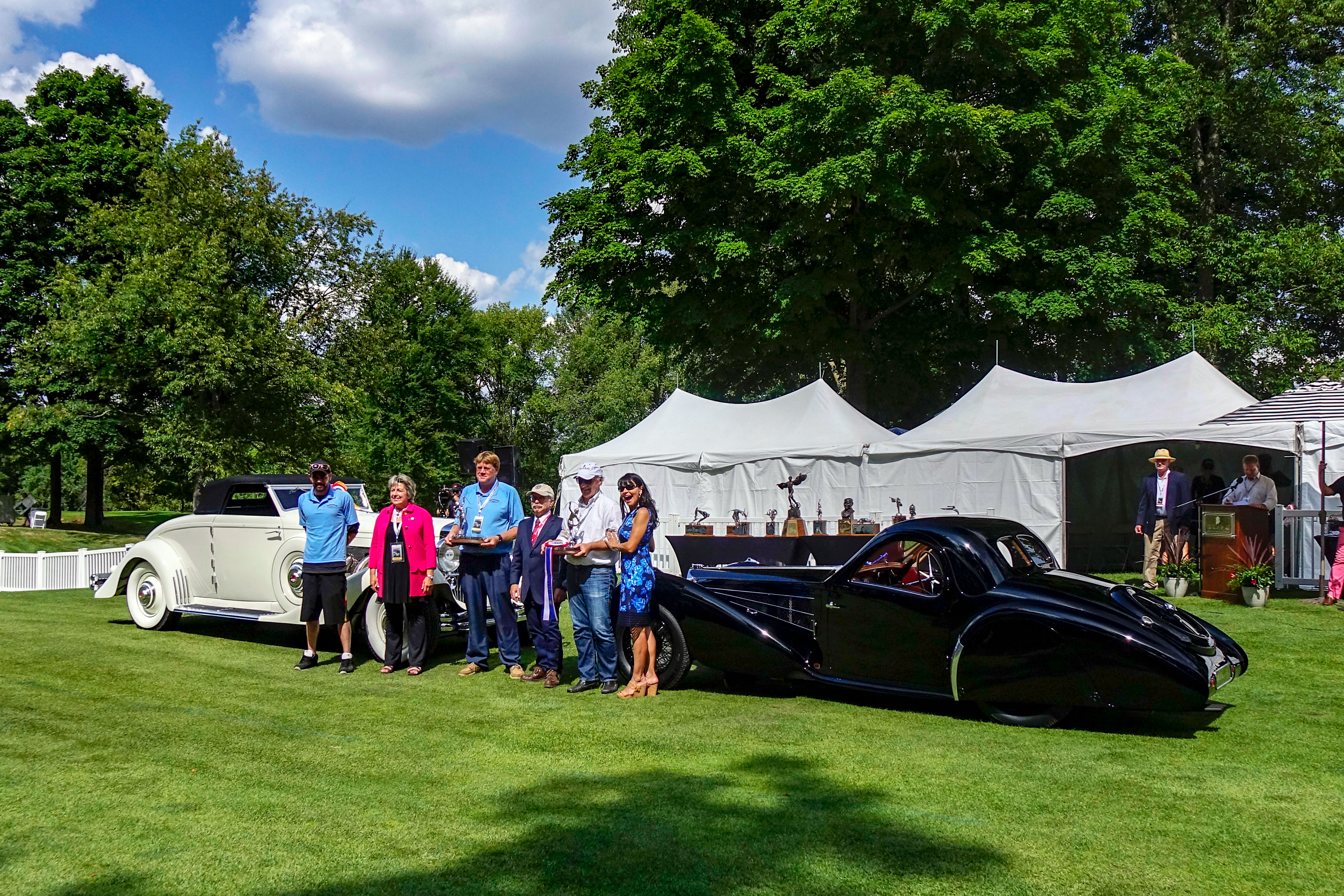 Concours of America 2018 st johns best in show european american