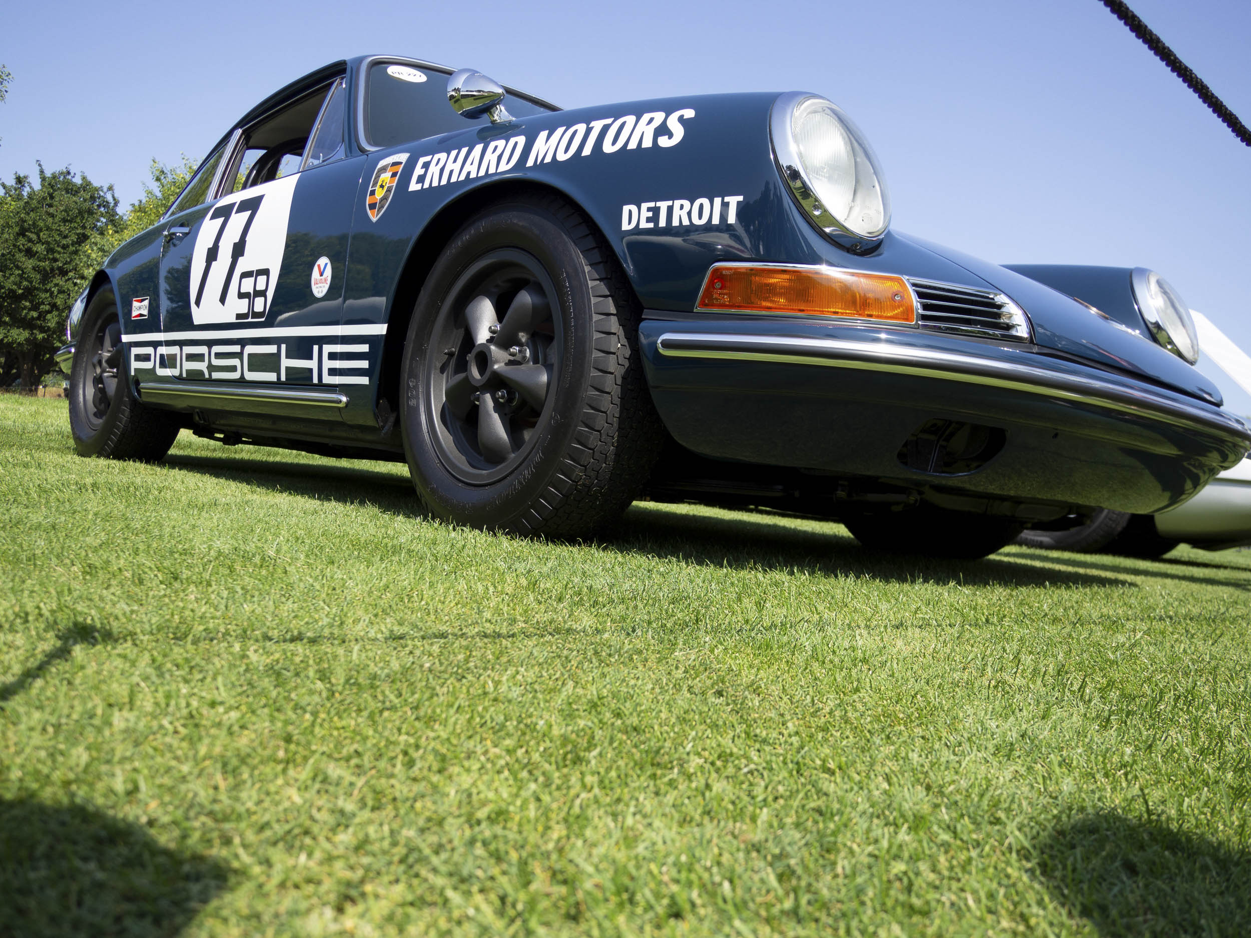1967 Porsche 911 Coupe by Kamann low front 3/4