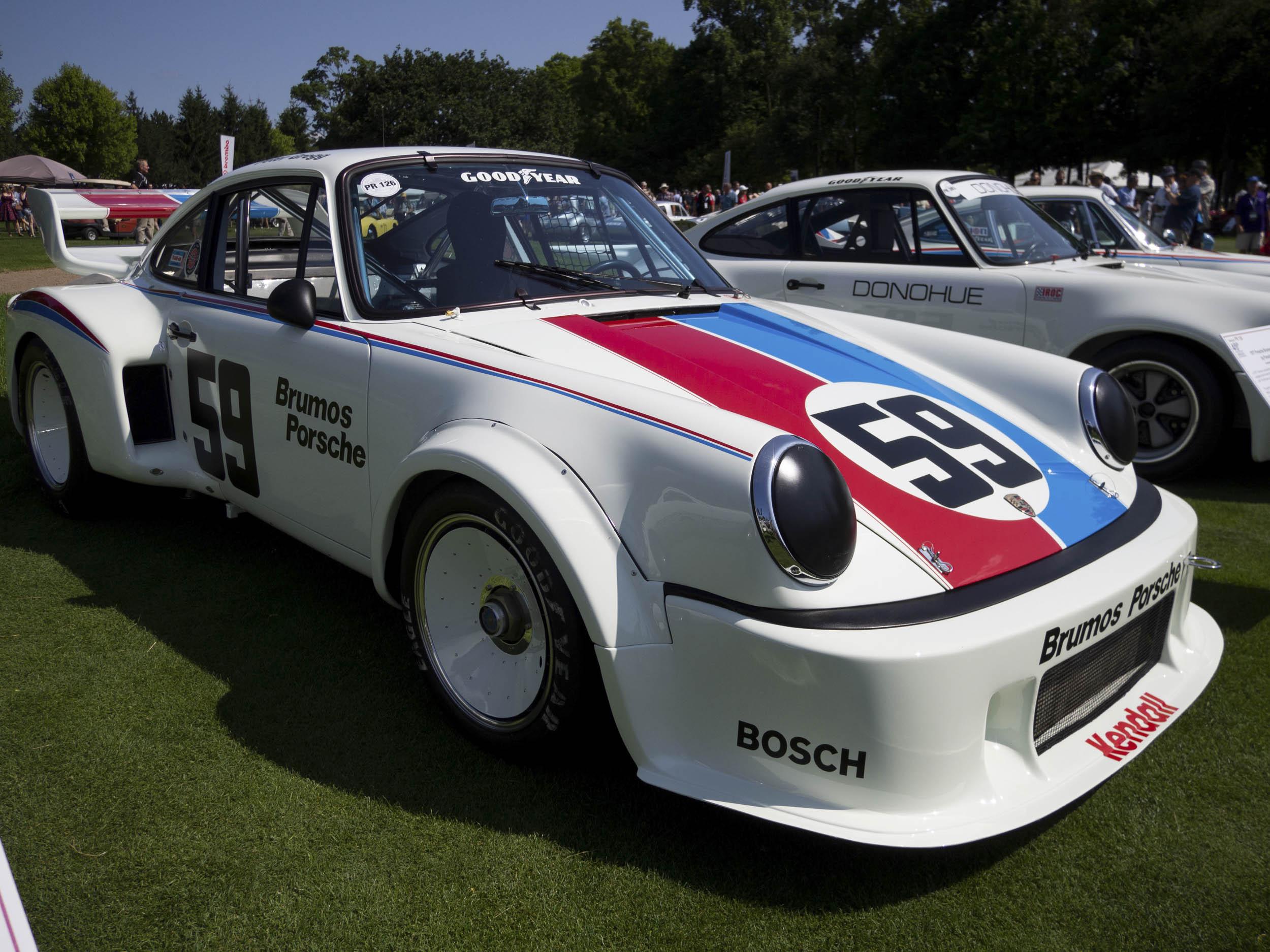 1977 Porsche Brumos 934.5 front 3/4