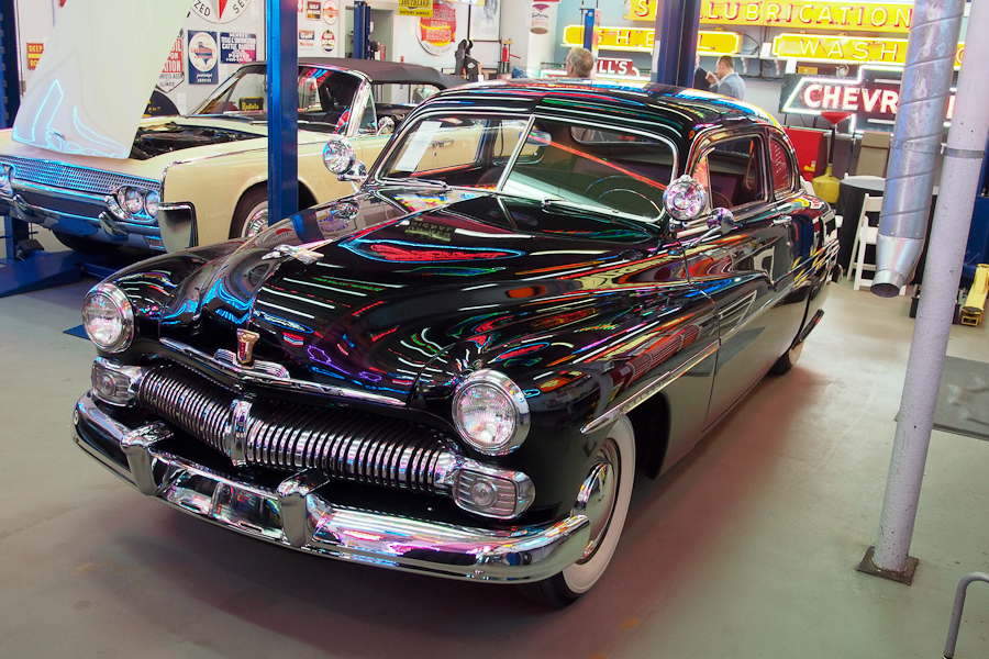1950 Mercury Model 72B Club Coupe
