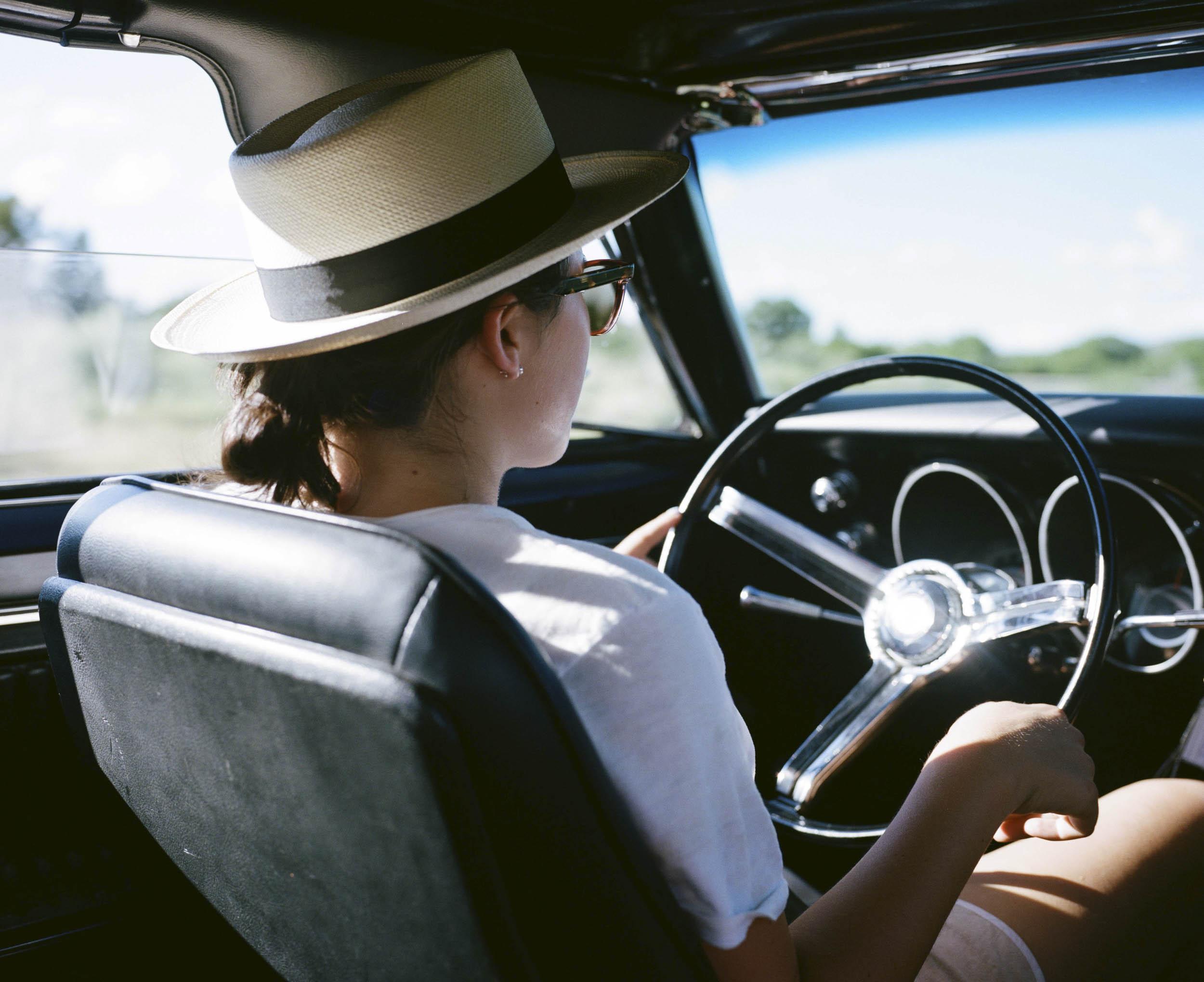 driving a camaro