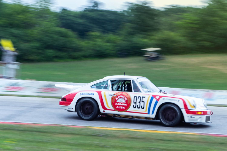 1987 Porsche 911 Carrera race car hawk