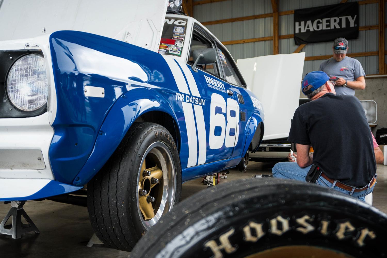 1970 Datsun 1200 race car hawk