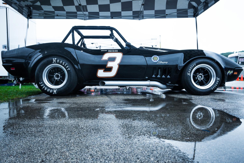 1969 Chevrolet Corvette Stingray side pipes roadster cage race car Hawk